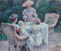 tea time by edmund william greacen