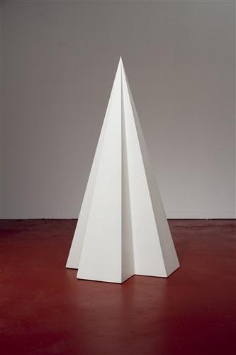 pyramid #4 by sol lewitt