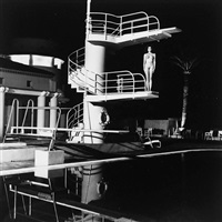 diving tower, old beach hotel, monte carlo by helmut newton