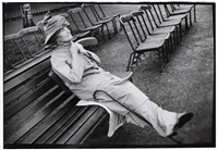 hyde park, london by henri cartier-bresson