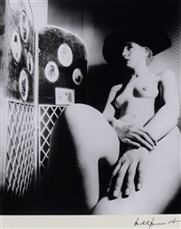 nude with hat by bill brandt