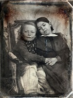 two children by gustave le gray and auguste mestral