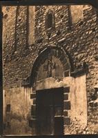 portail ouest, eglise sainte-marie, arles-sur-tech (pyrénées- orientales) by gustave le gray and auguste mestral