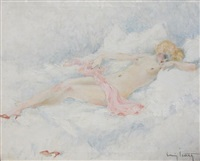 the pink slipper by louis icart
