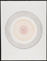 orbital (in a spin, the action of the world on things i) by damien hirst