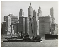n. y. downtown manhattan by andreas feininger