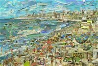 beach, postcards from nowhere by vik muniz