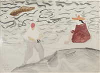 camera fiend by milton avery