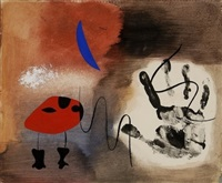 apparitions (visions) by joan miró