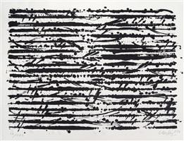 optische partitur – mozart by günther uecker
