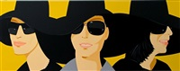 black hat iv by alex katz
