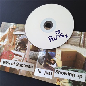 paris hilton cd by banksy