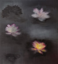 black monet by ross bleckner