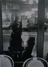 café la tartine, paris by edouard boubat