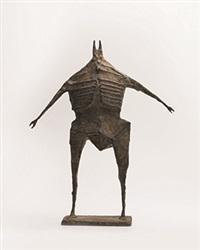 standing figure by lynn chadwick