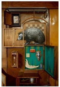 london hedgehog by roa
