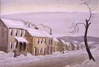houses by charles ephraim burchfield