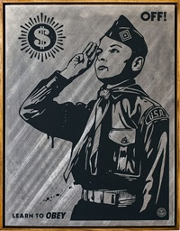 learn to obey by shepard fairey