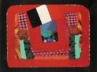 in a french restaurant by howard hodgkin