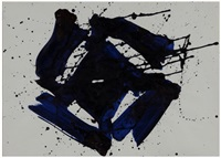 untitled (sf65-680) by sam francis