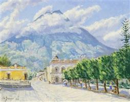 town square, antigua by s. n. garavia