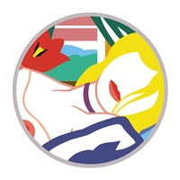 blond vivienne by tom wesselmann