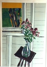 blue vase by alice neel