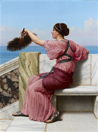 a signal by john william godward