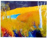 riverbend ii by wolf kahn