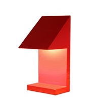 twenty seven desk lamp by ettore sottsass