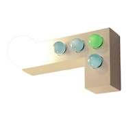 twenty two wall sconce by ettore sottsass