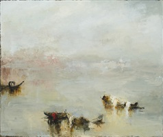 under the fog of a winter dawn by france jodoin