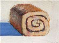 jelly roll by wayne thiebaud