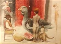 pequeña fantasia ii (sold) by roberto fabelo
