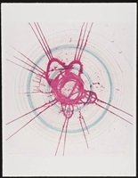 global a go go - for joe (in a spin, the action of the world on things i) by damien hirst