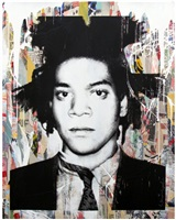 basquiat by mr. brainwash