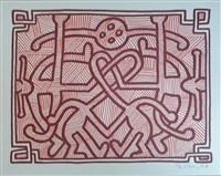 chocolate buddha 2 by keith haring