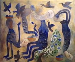 serie mangos azules by manuel mendive