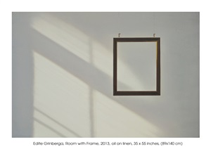 room with frame by edite grinberga