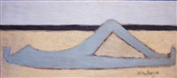 blue nude by the sea by milton avery