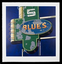 blues by robert cottingham