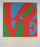 from the book of love by robert indiana