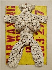 untitled (street butt venus) by al (alfred earl) hansen