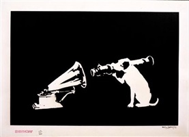 hmv by banksy