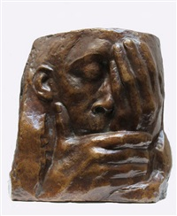 die klage, bronze by käthe kollwitz