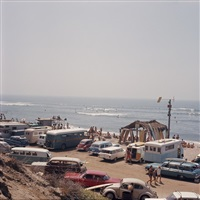 club surfing contest, san onofre by leroy grannis