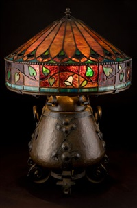 table lamp by onondaga metal shops