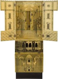 architettura cabinet by gio ponti and piero fornasetti
