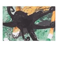 deer and octopus by john baldessari