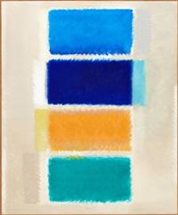 vier farbfelder (four colour fields) by heinz mack